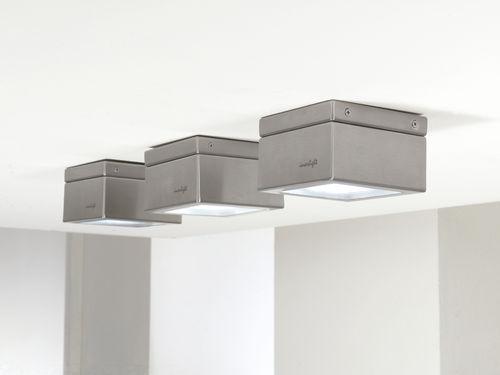 downlight sporgente / per esterni / LED / quadrato