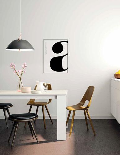 tavolo da pranzo moderno / in legno / in ceramica / in vetro laccato