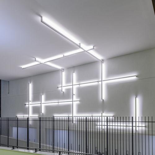 profilo luminoso sporgente / LED / modulare / dimmerabile