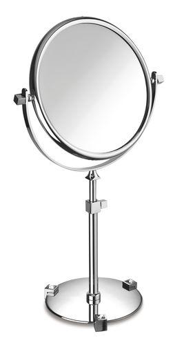 specchio da bagno da appoggio / a doppia faccia / ingranditore / in stile