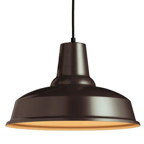 lampada a sospensione / in stile industriale / in alluminio / dimmerabile