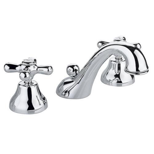miscelatore doppio comando per lavabo / da appoggio / in ottone / da bagno