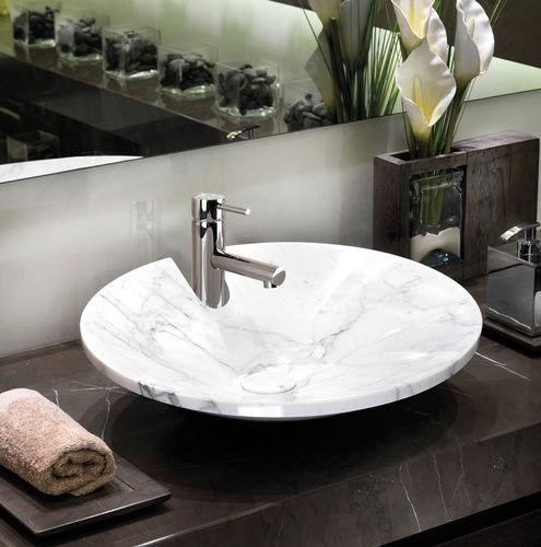 Miscelatore per lavabo / in metallo cromato / in cristallo Swarovski® / da bagno OKI: Z005301/Z005303 BOSSINI
