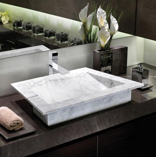 Miscelatore per lavabo / in metallo cromato / in cristallo Swarovski® / da bagno CUBE SERIES BOSSINI