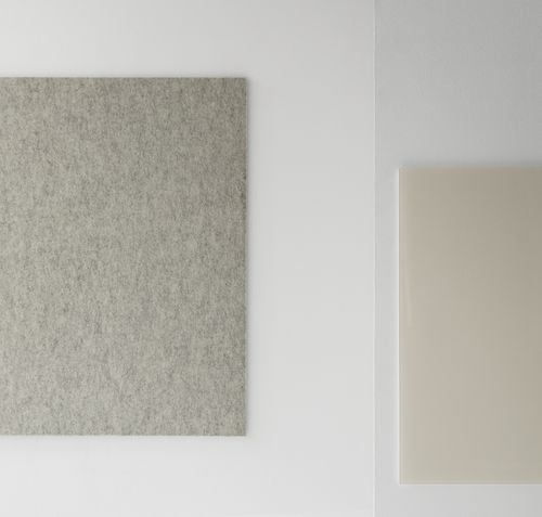 tabellone magnetico / da parete / in metallo / in tessuto
