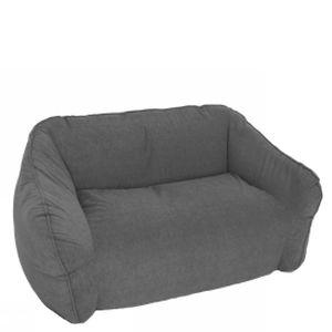 divano moderno / da giardino / in poliuretano / 2 posti
