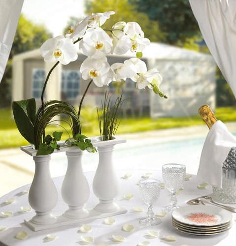 vaso design originale / in porcellana di Limoges