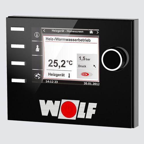modulo di controllo per sistema domotico / di temperatura / a muro / da interno