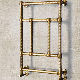radiatore scaldasalviette ad acqua calda / in metallo / moderno / da parete