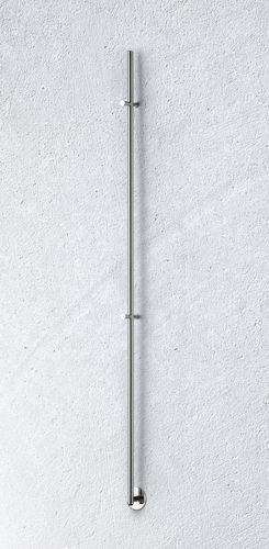 radiatore scaldasalviette elettrico / in metallo / cromato / moderno