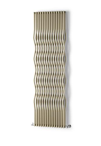 radiatore ad acqua calda / in metallo / moderno / verticale