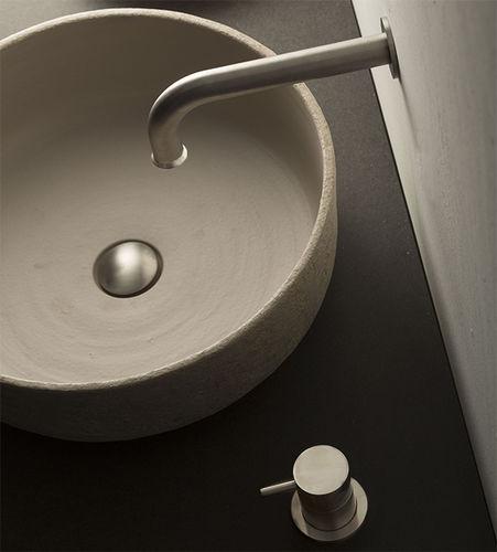 Miscelatore per lavabo / da parete / in acciaio inossidabile / da bagno STIRIANA: 6100 AND CUSTOMIZED SPOUT MINA Rubinetterie