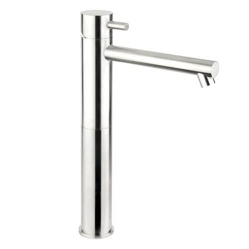 miscelatore per lavabo / in acciaio inossidabile / da bagno / 1 foro