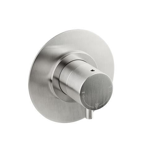 miscelatore da doccia / da incasso / in acciaio inox / termostatico