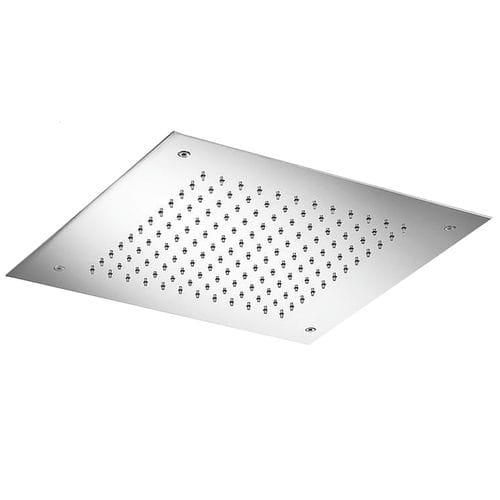 soffione doccia da incasso a soffitto / quadrato / a pioggia
