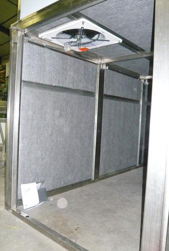 isolante acustico / in poliestere / per interni / in pannelli