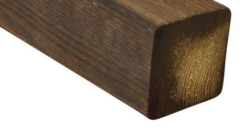 trave in legno massiccio / quadrata / per solaio