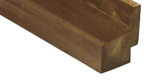 Rivestimento di facciata in legno di latifoglie / liscio / a doghe / di lunga durata 1217 Kebony
