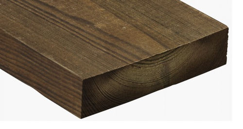 Rivestimento di facciata in legno di latifoglie / liscio / in pannelli / di lunga durata 1407 Kebony
