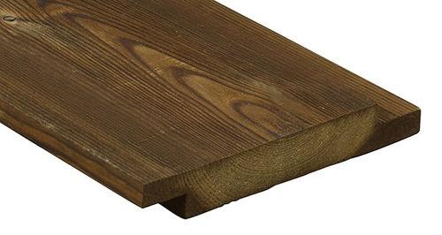 Rivestimento di facciata in legno di latifoglie / liscio / a doghe / di lunga durata 2216 Kebony