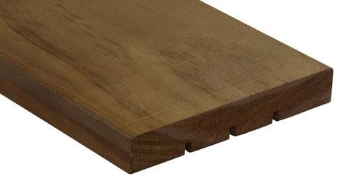 listello per esterni in legno di latifoglie / FSC / di lunga durata