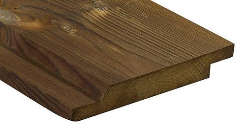 rivestimento di facciata in legno di latifoglie / liscio / in pannelli / di lunga durata