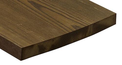 rivestimento di facciata in legno di latifoglie / testurizzato / liscio / in pannelli