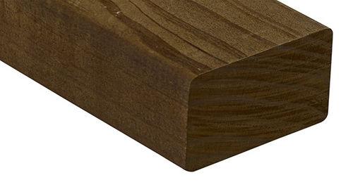 trave in legno massiccio / a sezione rettangolare / per solaio