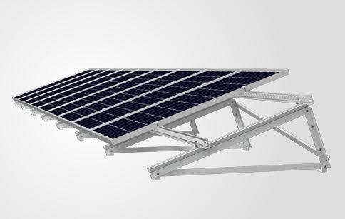 sistema di montaggio per tetto di tegole / per tetti piani / su tetto / per applicazioni fotovoltaiche