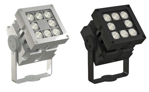 Faretto sporgente / da esterno / LED / alogeno REVO BASIC DMX-8 CLS LED