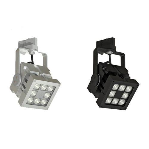 Faretti a binario LED / quadrato / in alluminio / per uso professionale REVO TRACK MAINS DIMMABLE CLS LED