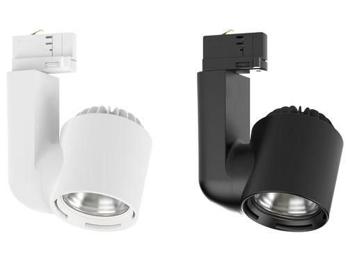 Faretti a binario LED / rotonda / in alluminio / professionale JADE S CLS LED