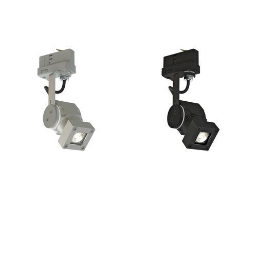 Faretti a binario LED / quadrata / in alluminio / per uso professionale REVO MICRO TRACK CLS LED