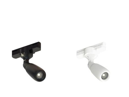 Faretti a binario LED / rotonda / in metallo / professionale FOCUS HP T-DMX CLS LED