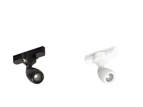 Faretti a binario LED / rotonda / in metallo / per uso professionale FOCUS COMPACT T DMX GII CLS LED