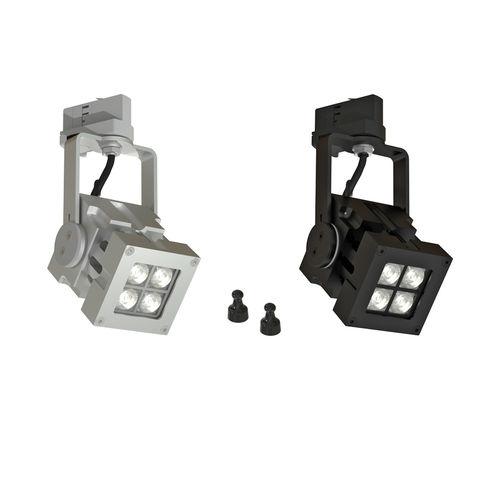 Faretti a binario LED / quadrata / in metallo / professionale REVO COMPACT MAGNO CLS LED