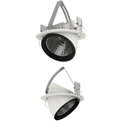 faretto da incasso a soffitto / da interno / LED / tondo