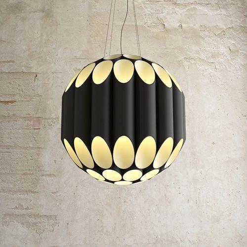 lampada a sospensione / moderna / in alluminio / fatta a mano