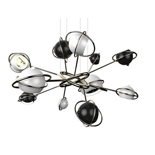 Lampada a sospensione / design originale / in metallo / da interno COSMO DelightFULL