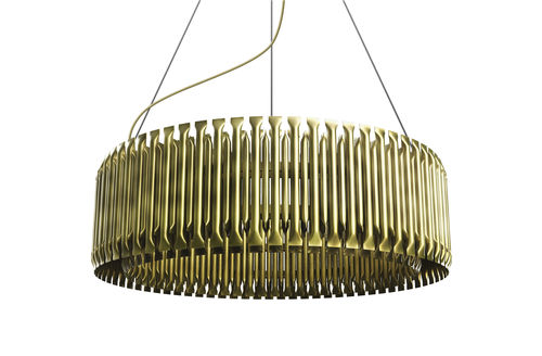 Lampada a sospensione / design originale / in ottone / da interno MATHENY DelightFULL