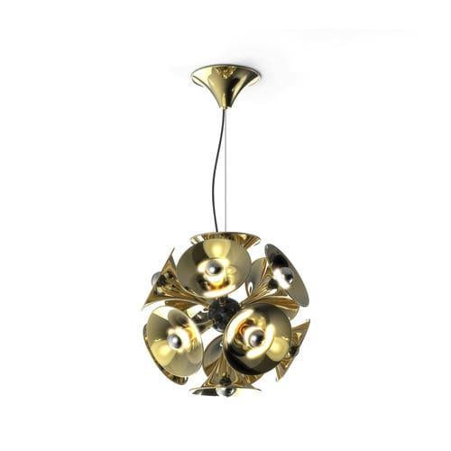 Lampada a sospensione / design originale / in nichel / in ottone BOTTI DelightFULL
