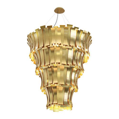 Lampadario moderno / in ottone ETTA DelightFULL