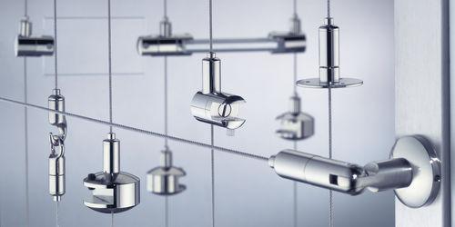 sistema di sospensione in acciaio inox