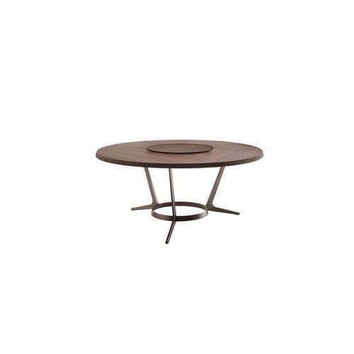 tavolo moderno / in quercia / in legno massiccio / in wengé