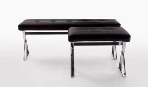 divanetto imbottito moderno / in legno / di Antonio Citterio / da interno