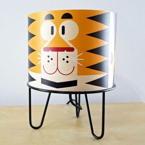 lampada da tavolo / moderna / in metallo / di carta
