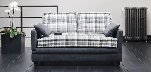 divano letto / moderno / in tessuto / reclinabile