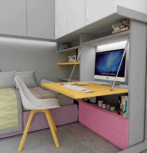 scrivania in laminato / moderna / per bambini