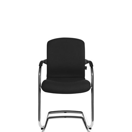 Sedia visitatore moderna / con braccioli / imbottita / impilabile ALUMEDIC 60 Wagner - Eine Marke der Topstar GmbH