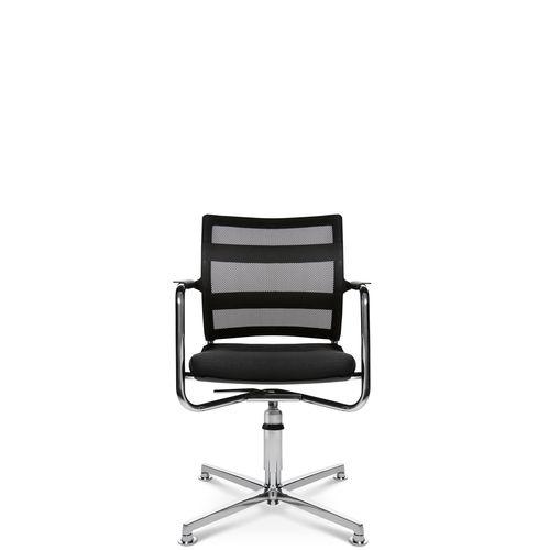 Sedia visitatore moderna / con braccioli / imbottita / con base a stella ERGOMEDIC 110-1 3D Wagner - Eine Marke der Topstar GmbH